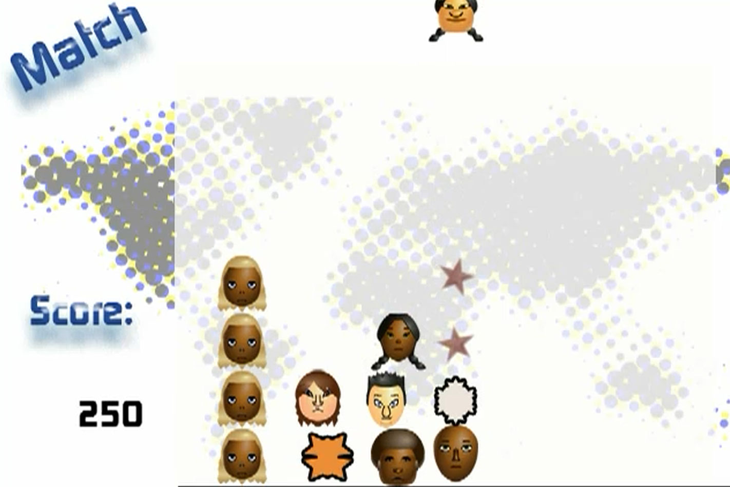 Match -Racist Tetris Game Critical Gameplay